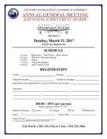 2017 Registration Form