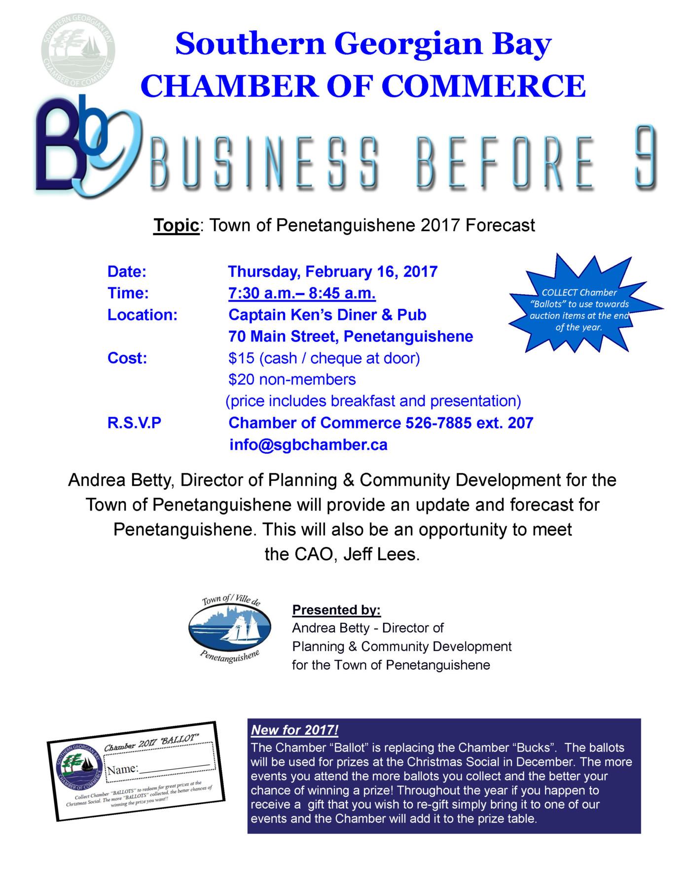 Business Before 9 @ Captain Ken's Diner & Pub  | Penetanguishene | Ontario | Canada