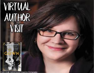 Virtual Author Visit: Jennifer Robson @ Virtual: Midland Public Library