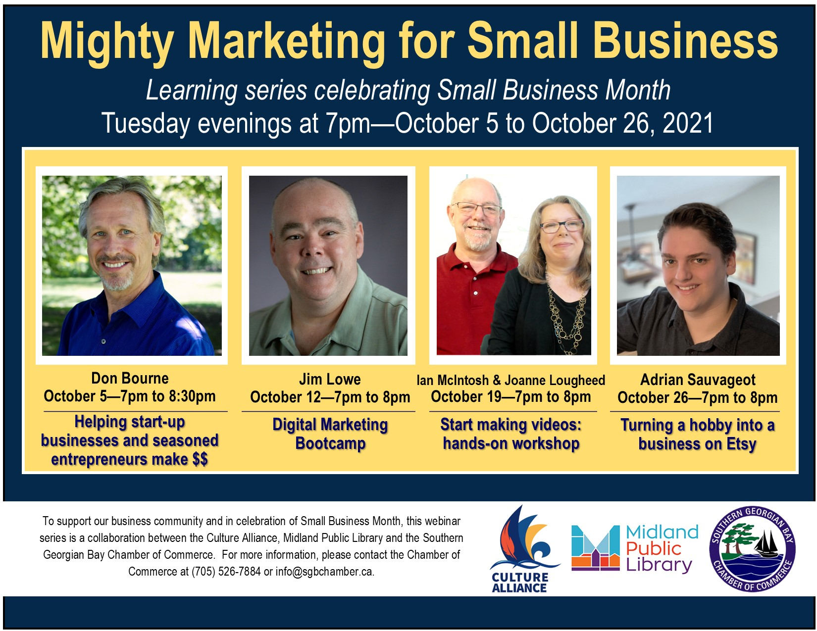 Mighty Marketing for Small Bussiness @ Virtual