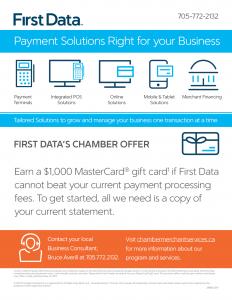First Data Offer