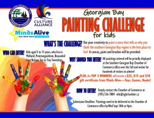 Georgian Bay Paint Challenge