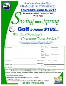 Swing into Spring Golf Tournament @ Brooklea Golf & Country Club | Midland | Ontario | Canada