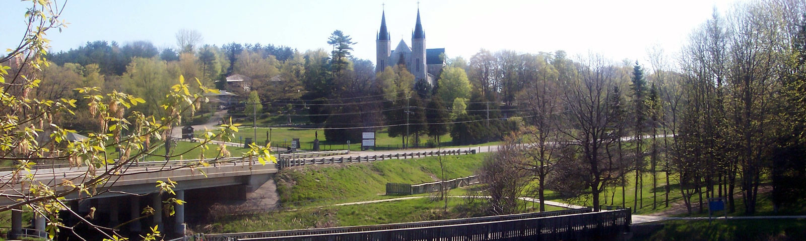 Martyrs Shrine and Sainte Marie Among The Hurons in Tay