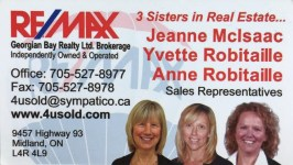 REMAX - 3 sisters in realty -Business Card