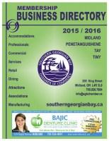 Southern Georgian Bay Business Directory 2015-2016