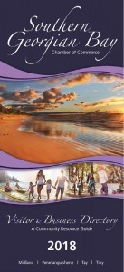 Southern Georgian Bay Visitor Guide Book 2018
