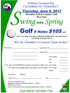 golf registration image