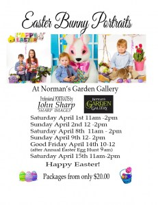 Spring & Easter Bunny Portraits plus Live Bunnies by John Sharp Photography @ Norman's Garden Gallery  | Midland | Ontario | Canada
